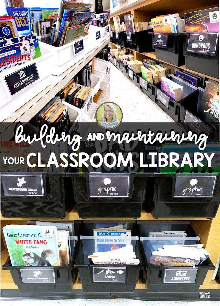 Building and Maintaining a Successful Classroom Library