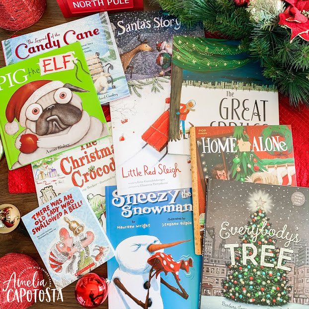 Christmas Books + Crafts