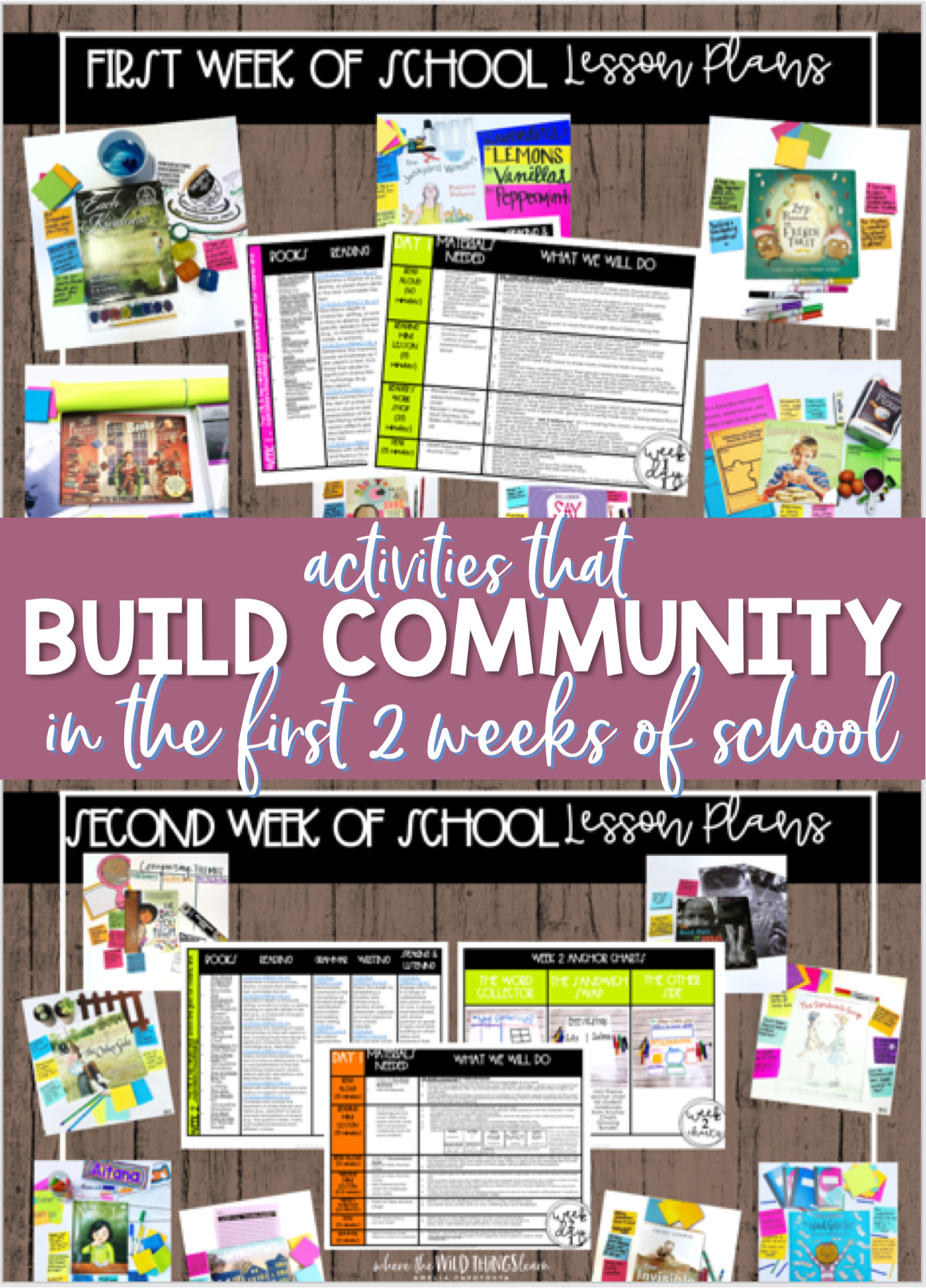 Building Community in the First 2 Weeks of School
